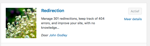 Optimaliseren - URL doorverwijzen